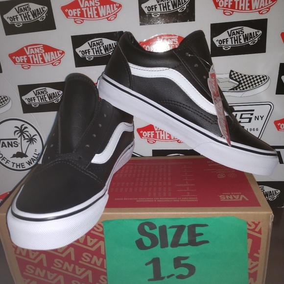e98e6a413e1c7 Vans Shoes | Old Skool Leather Size 15 Youth | Poshmark